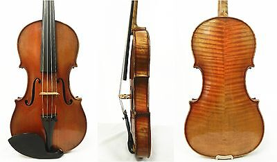 Nice old antique 4/4 Size Violin labeled Vintage German ,Ready to Play!