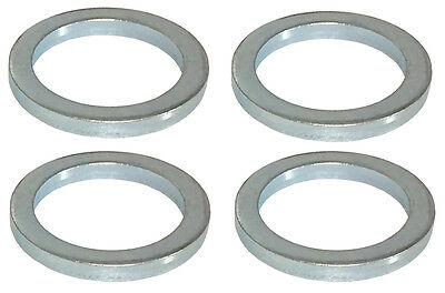 """Flat Steel Spacers 1//2/"""" I.D x 1.125 Thick 4 Pack #1212"""