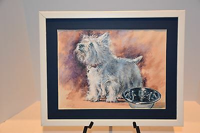 West Highland White Terrier Painting - Original