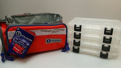 New Plano 1612650 Crossover Medical Emt Bag With 4 - 3600 Stowaway Boxes