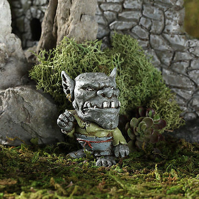 Drudge the Troll GO 17599 Miniature Fairy Garden Dollhouse