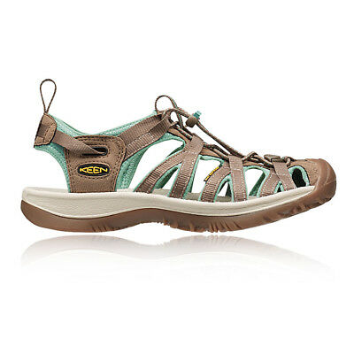 Keen Whisper Womens Brown Green Outdoors Walking Hiking Sandals Summer Shoes