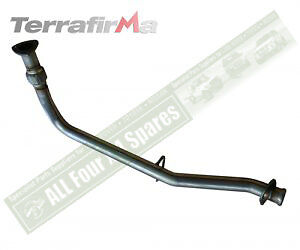 Terrafirma Exhaust Pipe To Remove Catalytic Converter Defender and Discovery 2