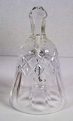 "Waterford Crystal Dinner Bell 5"" tall Unmarked"