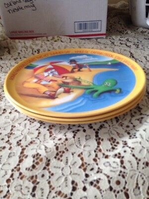 Vintage Ronald McDonald's Collector Plates 3 Set 1977