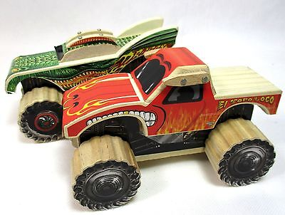 Lowe's Build and Grow Monster Jam Dragon El Toro Loco Wood Kit Model Patch B-10