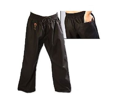 ProForce Combat Karate PANTS SALE! Martial Arts Taekwondo Training Uniform BLACK