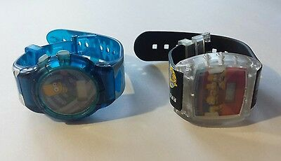 Lot of 2 Burger King The Simpsons Watches 2002