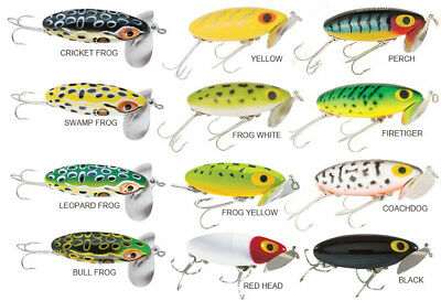 Arbogast Jitterbug 3/8oz (barra cod yellow belly lure lures)