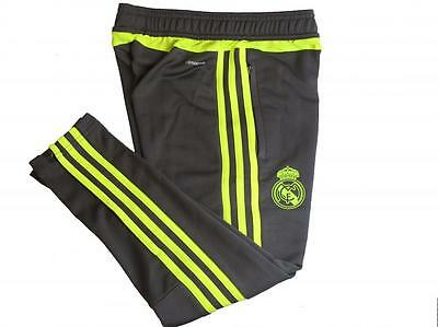 adidas performance Real Madrid childrens grey football training pants  2015-16