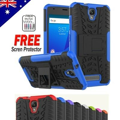 Heavy Duty Tough Kickstand Strong Case Cover For Telstra Slim Plus /ZTE Blade L5