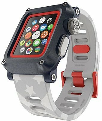 premium selection 27989 80cd5 APPLE WATCH WATERPROOF Case for 42mm Series 1 LUNATIK EPIK H20 w/ Silicone  Strap