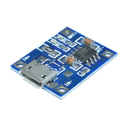 2PCS TP4056 1A Lithium LiPo Battery Charging Board Charger Lade Modul Micro USB