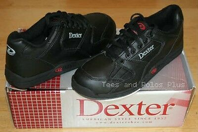 "Dexter mens ""Ricky II"" tenpin bowling shoes UK 6 1/2, Black"