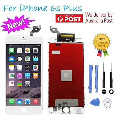 LCD 3D Touch Screen Digitizer Assembly Replacement White For iPhone 6s Plus AU
