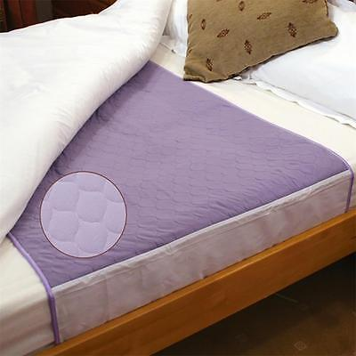 Washable Absorbent Bed Pads - no tucks - Incontinence Bed Protection -Single