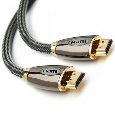 3m Metre NEW V2.0 PREMIUM HDMI Cable HD High Speed 4K UltraHD 2160p 3D Lead