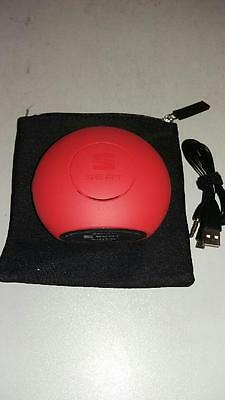Genuine Seat Universal Bluetooth Speaker In Red With Seat Logo (6H1087621Gad)