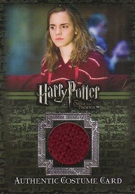 Harry Potter Order of the Phoenix Hermione Granger's Jumper C3 Costume Card