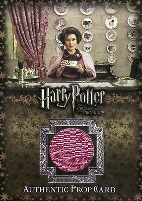Harry Potter Order of the Phoenix Umbridge's Office Curtains P11 Prop Card