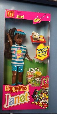 1993 McDonald's Happy Meal Janet Doll NOS MIB By Mattel