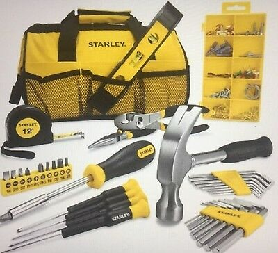 Stanley Tool Kit 40+ Pieces Complete Diy Tool Set *including Tool Bag*