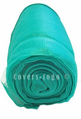 Debris Scaffold Garden Netting  Green 2M X 50M Crop Allotment Shade Windbreak