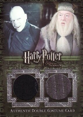 Harry Potter Order of the Phoenix Update Voldemort & Dumbledore C14 Costume Card