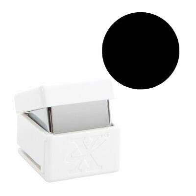 Xcut Handheld Paper Card Shape Craft Cutter - Medium Palm Punch - Circle
