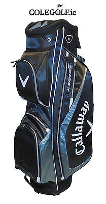 Callaway X Series Cart Golf Bag - Charcoal/Black