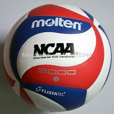 Official Molten Size 5 Soft Touch V5M5000 Game PU Volleyball Ball