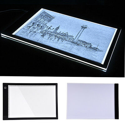 A4 LED Tracing Slim Copy Board Tracer Pad Drawing Light Box Tattoo Sketch