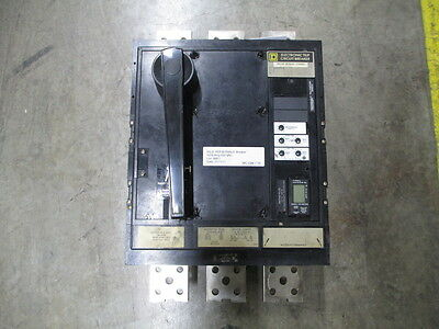 Sq D PEF361600LS 1600A 3P 600V Electronic Trip Breaker w/ LSI MO/FM Used Tested