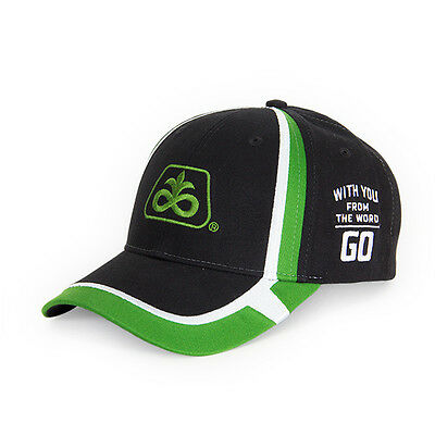 PIONEER SEED *BLACK & GREEN* With you from Go TWILL LOGO HAT CAP NEW PS60