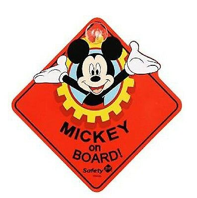"DISNEY BABY ""MICKEY on BOARD""  SIGN"