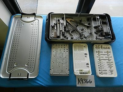 Smith & Nephew Surgical Orthopedic Mini Fragment Instrument Set
