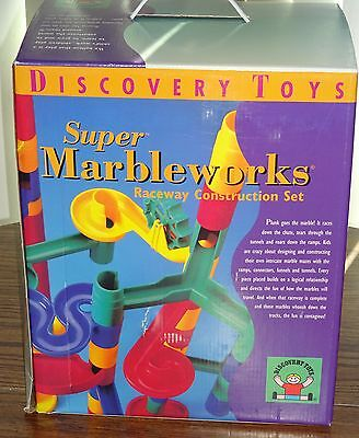 Discovery Toys Super Marbleworks Raceway Construction Set- Brand New
