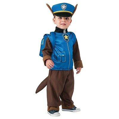 Chase Costume Paw Patrol Halloween Fancy Dress
