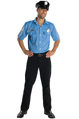 Brand New Police Officer Cop Men Adult Costume