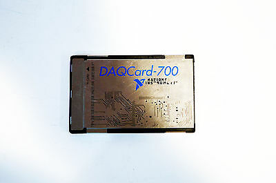 National Instruments NI DAQCard-700 NI DAQ Card PCMCIA An. Input Multifunction