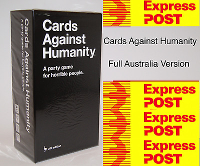 Cards Against Humanity Australian AU V1.7 Edition BASE SET 550 Party Card Game