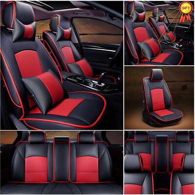 2016 Ford F150 Seat Covers >> Us Pu Leather Seat Covers For Ford F 150 2010 2016 Front