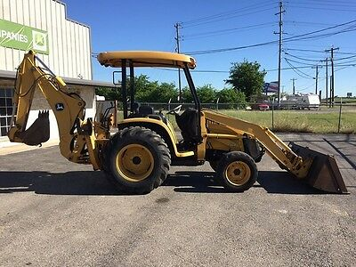 2007 John Deere 110TLB Backhoe Loaders