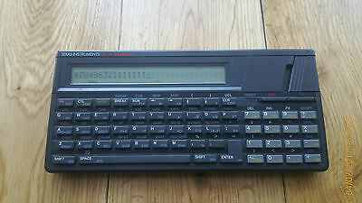 Texas Instruments TI-74 BASICALC Programmable Calculator (1985)