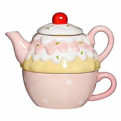 Premier Housewares Cupcake Tea for One Set