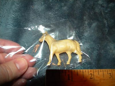 """Vintage Celluloid Small Horse~Beautiful Colors~2"""" Tall/Wide"""