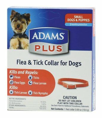 Adams Plus Flea and Tick Collar Small Dog