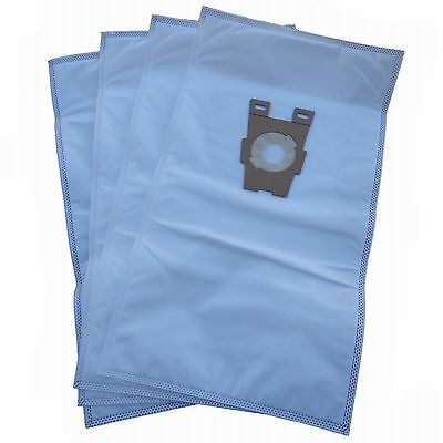 4 Universal HEPA Cloth Bags for Kirby Vacuum F Style Avalir Sentria by DVC
