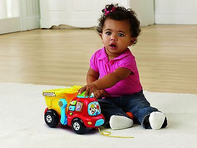 Educational Toy Dump Truck For Baby Toddler Learning Fun Play Infant Kids NIB