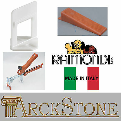 Arckstone 4000 Notions de Base Carrelage 12-20 mm 500 Cales 1 Pince Sol Raimondi